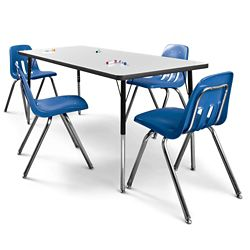 """72"""" x 30 Markerboard Table"""