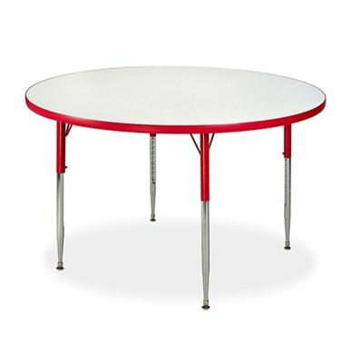"Circle White Board Table Top - 48"" DIA"