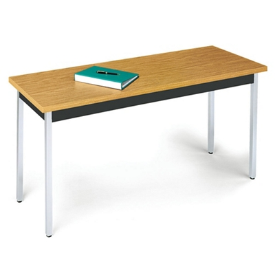"24""W x 48""D Office Table Fixed Leg"