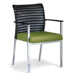 Horizontal Mesh Back Side Chair
