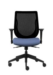 Mesh Back Office Chair with Fabric Seat