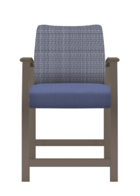 "Jacob Hip Chair with Flex Back - 24""H Seat"