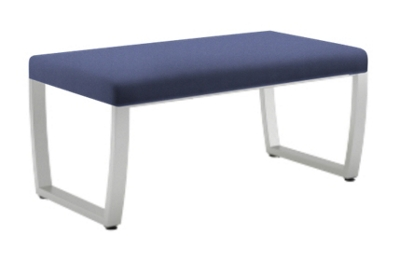 "Jacob Sled Base Bench - 40""W"