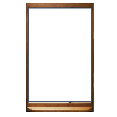 "Glass Patient Dry Erase Board - 24""W x 30""H"