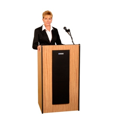 Contemporary Lectern with Sound
