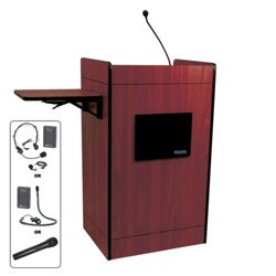 Podium with Wireless Sound