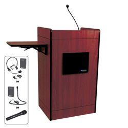 Podium with Wireless Sound