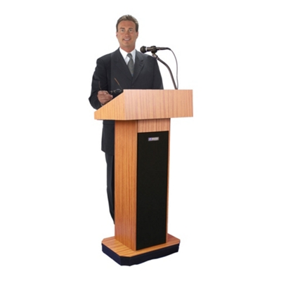 Floor Lectern with Sound