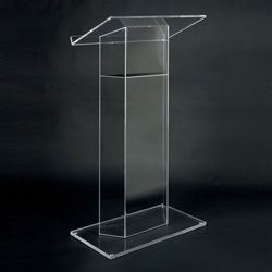 Wing Style Acrylic Lectern