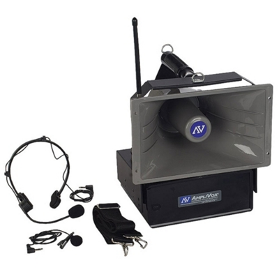 50W Wireless Half Mile Hailer Megaphone