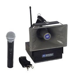 50W Wireless Handheld Hailer PA System