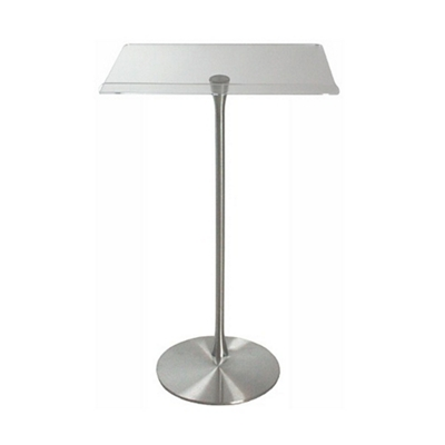 """Acrylic Lectern - 24""""W x 14.5""""D Reading Surface"""