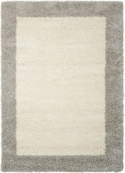 "Bordered Shag Area Rug 5'3""W x 7'5""D"
