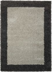 "Bordered Shag Area Rug 3'11""W x 5'11""D"