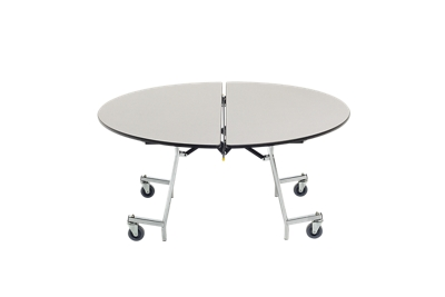 Round Mobile Shape Table