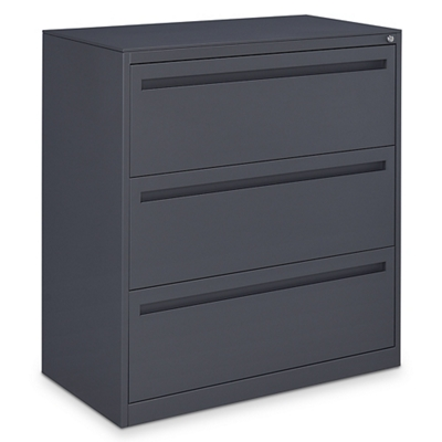 "Ogden 42""W Three Drawer Lateral File"