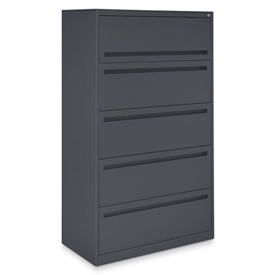 "Ogden 36""W Five Drawer Lateral File"