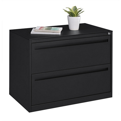 "Stahl Two Drawer Lateral File with Counterweight - 36""W"