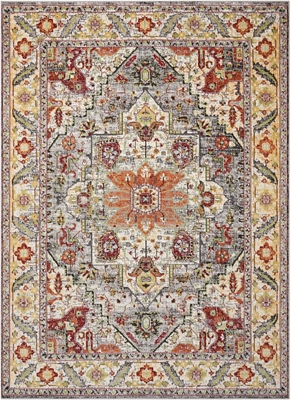 "Persian Bordered 5'3"" x 7'3"""