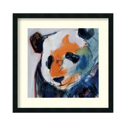 Call Me Panda by Maritz - Framed Art Print