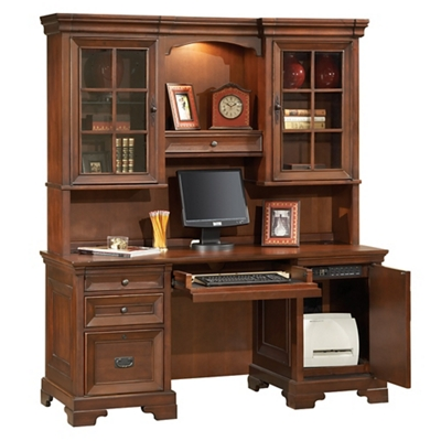 "Traditional Credenza and Hutch- 66""W"