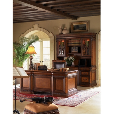 "Rope Twist Detail Executive Desk - 72""W"