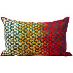 "kathy ireland by Nourison Multicolor Rectangular Pillow - 20"" x 12"""