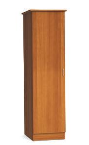 """One Door Wardrobe Cabinet - 72""""H"""