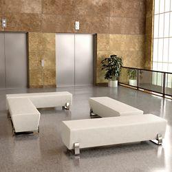 Four Bench Lobby Set