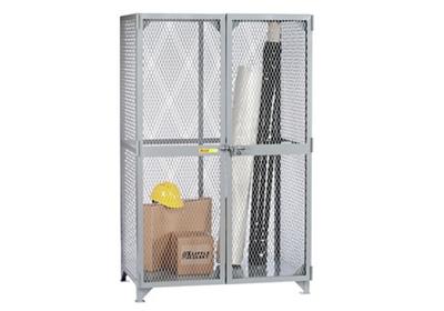 "Metal Mesh Storage Locker -78""H x 49""W"