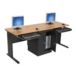 "Dual Computer Workstation - 72""W"
