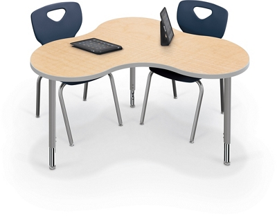 "Collaborative Cloud Shaped Table - 55.5""W"