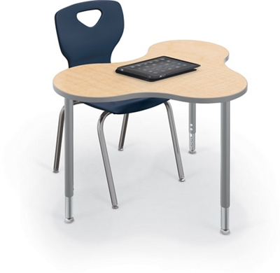 """Collaborative Cloud Shaped Table - 48""""W"""