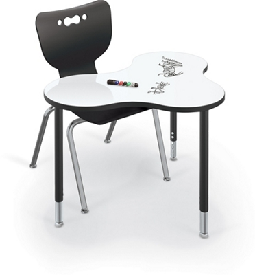 "Collaborative Cloud Shaped Desk - 36""W"