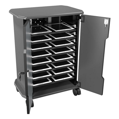 "Mobile 16 Laptop Storage Cabinet - 30.75""H"