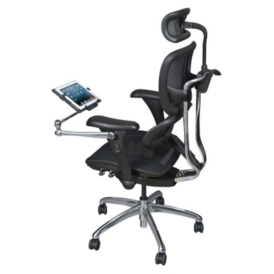 Mesh Ergonomic Computer Chair With Tablet Arm   56989 And More Lifetime  Guarantee