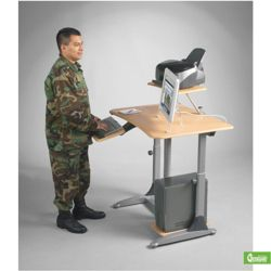 Ergonomic Adjustable Height Workstation