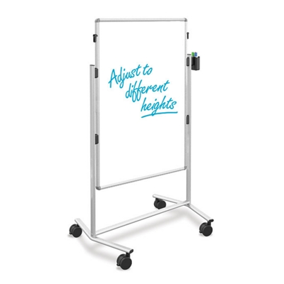 DuraRite Adjustable Height Dual Sided White Board
