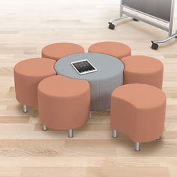 Configurable Soft Seating Group