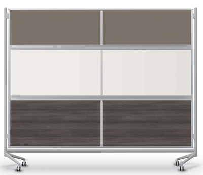 Mobile Acrylic, Laminate and Whiteboard Partition