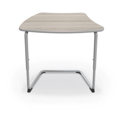 "Cantilever Curve Top Student Desk - 34""W"
