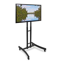"Height Adjustable Mobile TV Stand - 29""W"