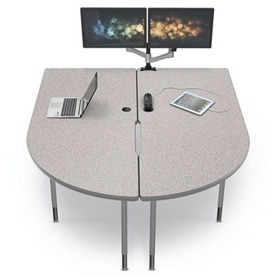"Split Media Table - 58.82""W"