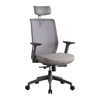 Sleek Chair with Headrest