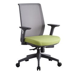 Sleek Mesh-Back Chair