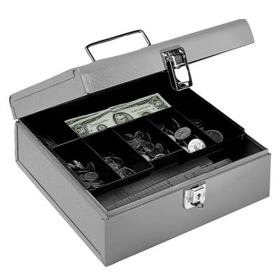 Seven Compartment Cash Box