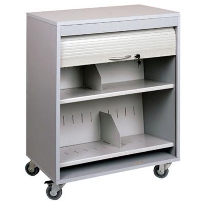 """Locking Mobile Medical File Cart - 26""""W"""