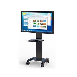 "Mobile Flat Screen Monitor Cart - 30""W x 29""D"