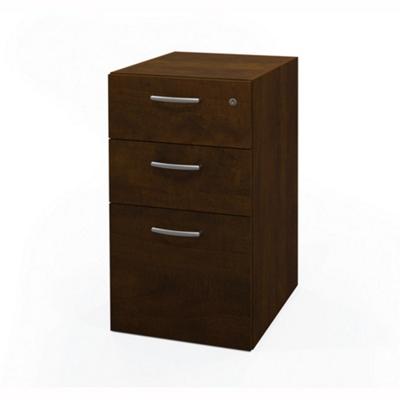 """15""""W Three Drawer File Pedestal"""