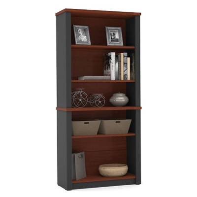 "Five Shelf Bookcase - 66.8""H"